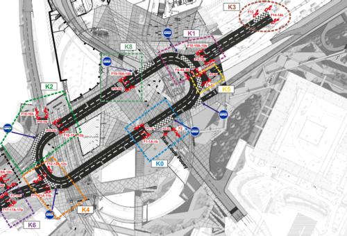 Études et plan de circulation