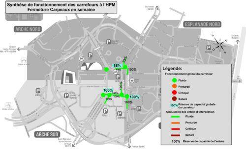 Technologies Nouvelles réalise des études de circulation - Fermeture de la rue Carpeaux
